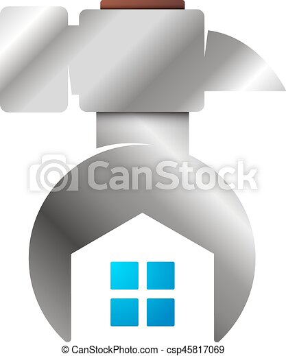 Wrench And Hammer Symbol For Repair Wrench And Hammer Symbol For
