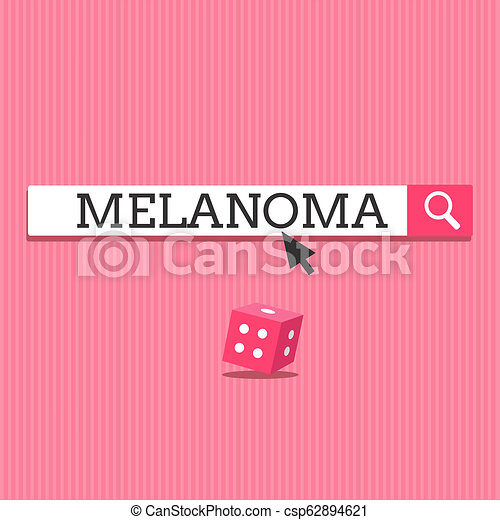 Writing note showing Melanoma  Business photo showcasing A malignant tumor  associated with skin cancer Benign moles
