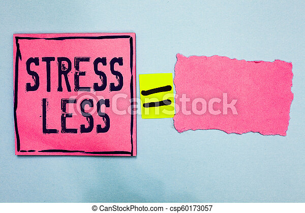 how to stay away from stress