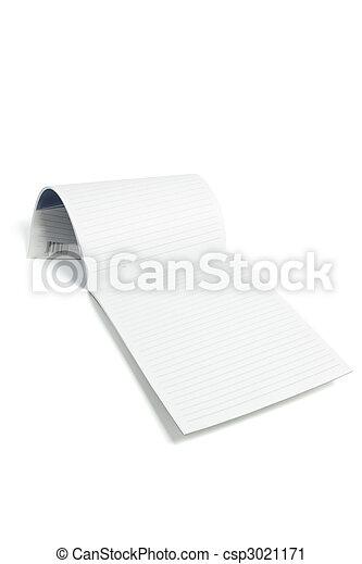 Writing Pad - csp3021171