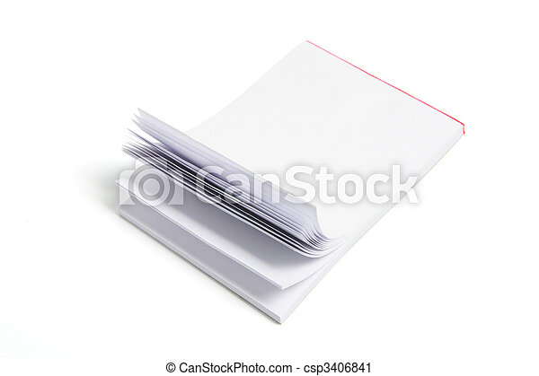 Writing Pad - csp3406841