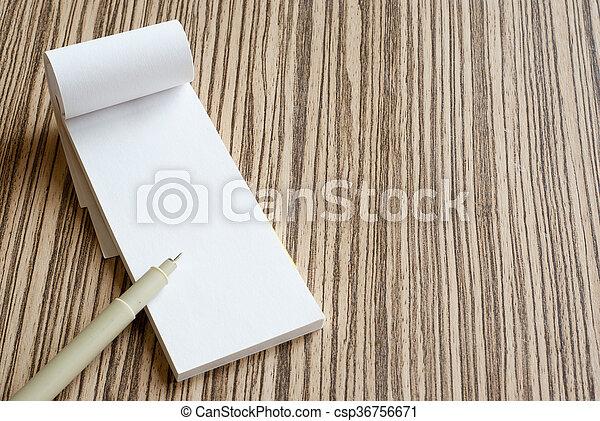 writing pad - csp36756671