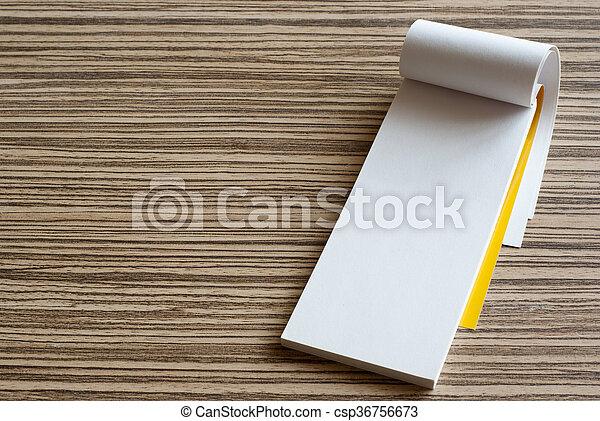 writing pad - csp36756673