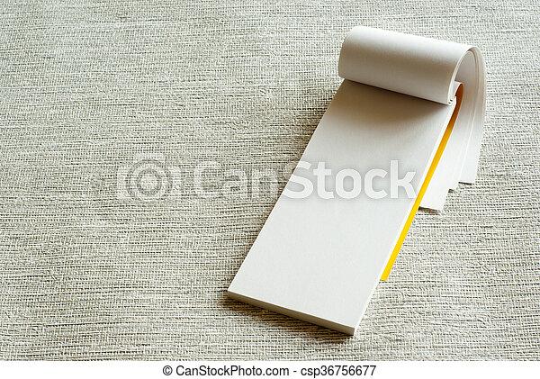 writing pad - csp36756677