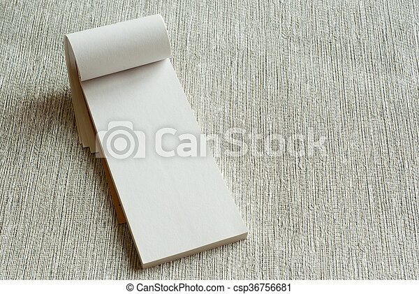 writing pad - csp36756681