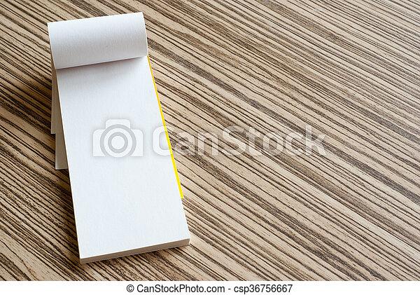 writing pad - csp36756667