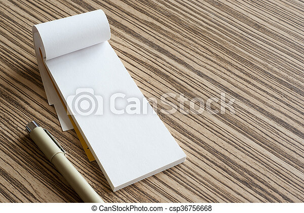 writing pad - csp36756668