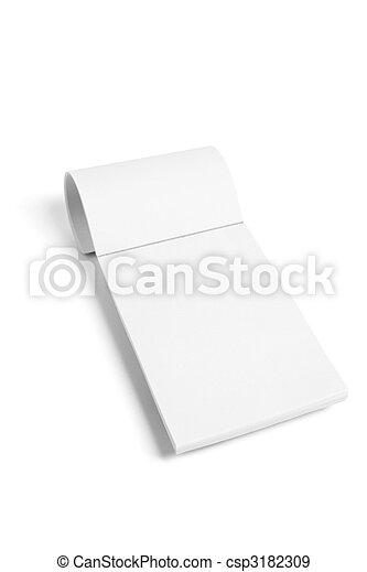 Writing Pad - csp3182309