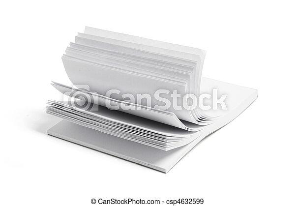 Writing Pad - csp4632599
