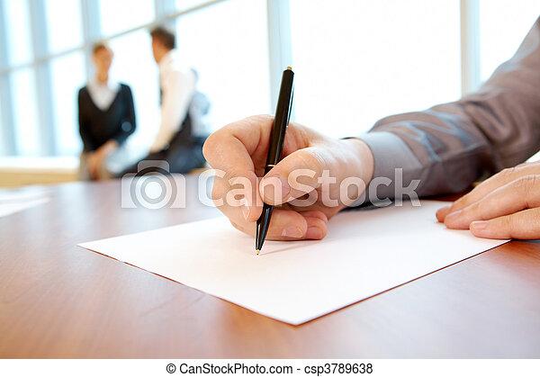 Writing work plan - csp3789638