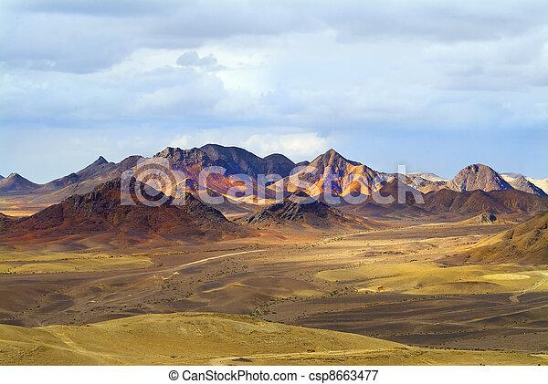 wspaniały, krajobraz - csp8663477