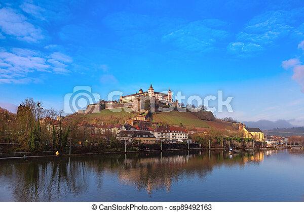 Wurzburg, Franconia, Northern Bavaria, Germany - csp89492163