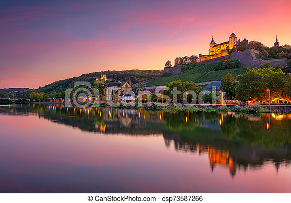 Wurzburg, Germany. - csp73587266