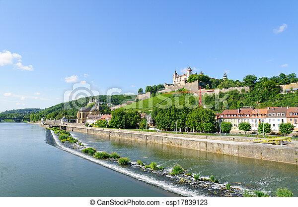 Wurzburg, Germany - csp17839123