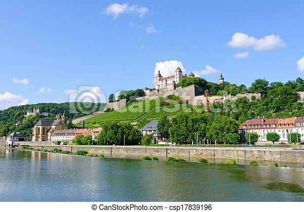 Wurzburg, Germany - csp17839196