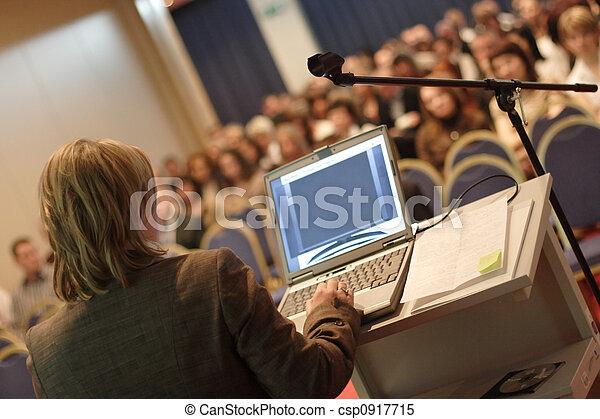 wykład, konwencja - csp0917715