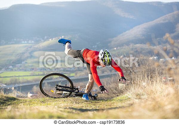 wypadek, rower - csp19173836