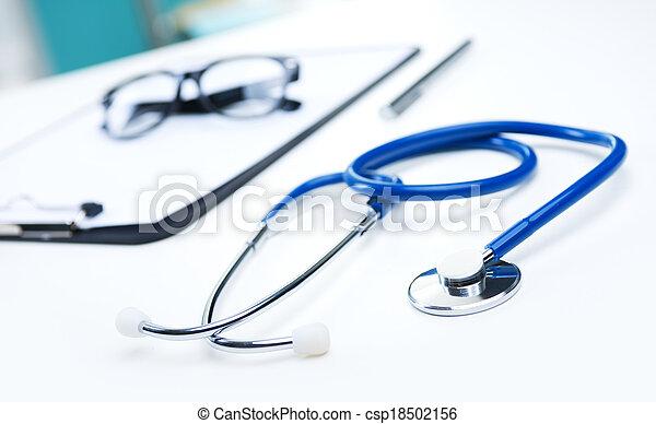 wyposażenie, medyczny - csp18502156