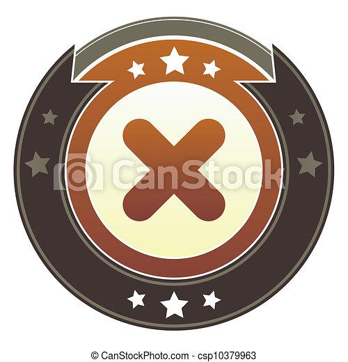 X imperial button - csp10379963