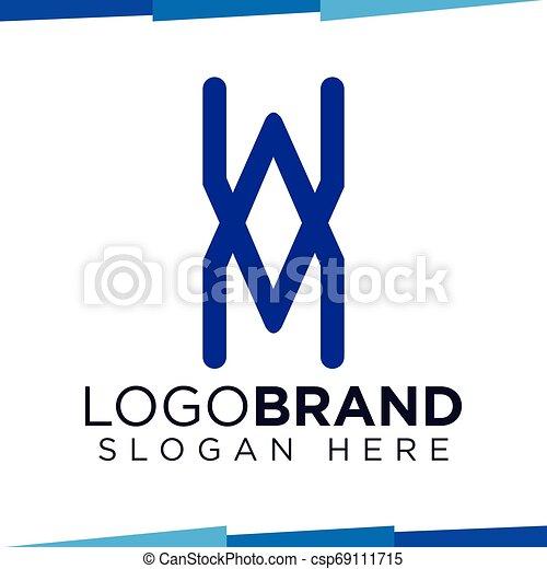 X Letter logo vector template - csp69111715