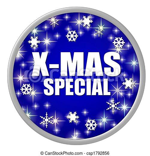 x-mas special button - csp1792856