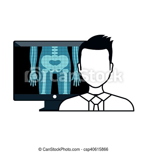x ray and doctor man x ray digital medical healthcare clip art rh canstockphoto com xray clipart hand x ray clip art images