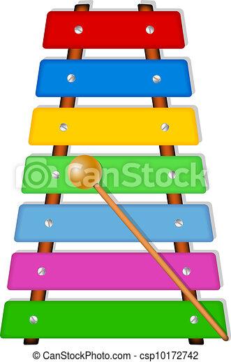 xilofone, coloridos - csp10172742