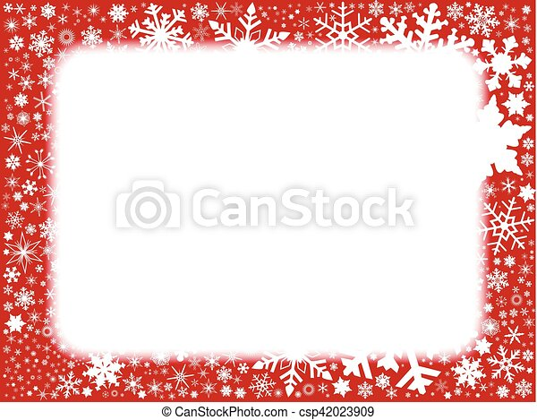 Xmas Red Background - csp42023909