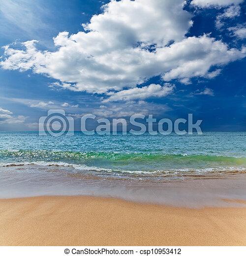 XXL seascape wallpaper. - csp10953412