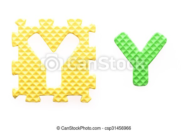 Y, alfabeto, cartas, coloreado, niños. Cartas, coloreado, alfabeto ...