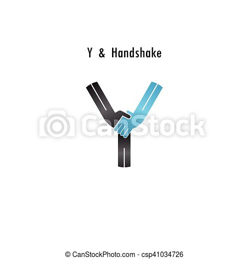 y letter icon abstract logo design vector templatebusiness offerpartnership iconcorporate