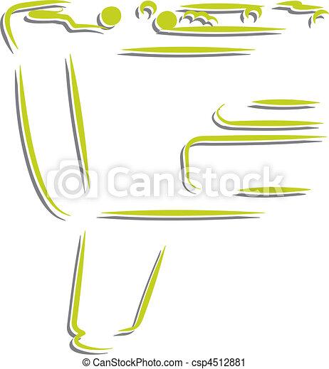 Salón de billar y dardos - csp4512881
