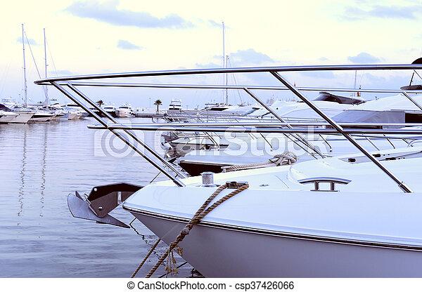 Yacht harbor - csp37426066