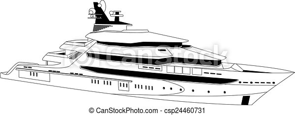 yacht, lusso - csp24460731