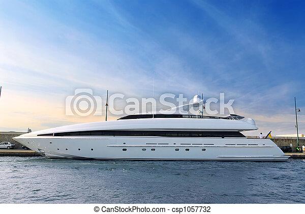 yacht, luxus - csp1057732