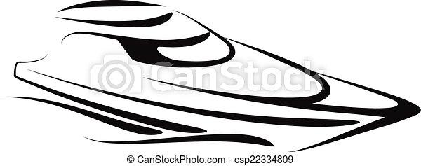 yacht - csp22334809