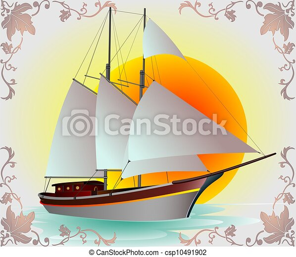 Jacht - csp10491902