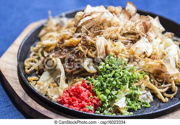 Yakisoba Japanese Noodles - csp16023334