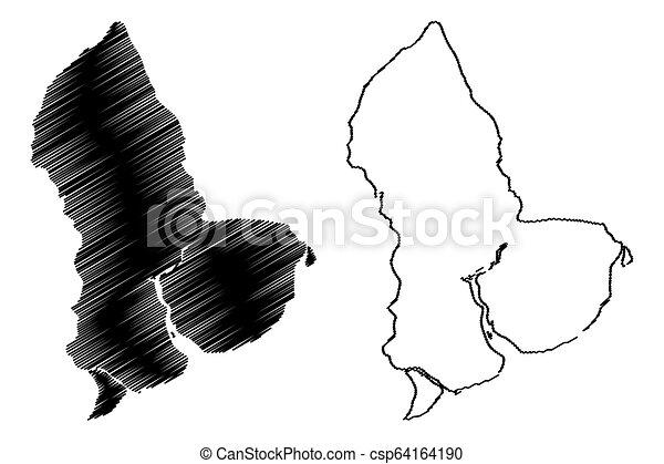 yangon region map yangon region administrative divisions of Outline of Burma yangon region map csp64164190