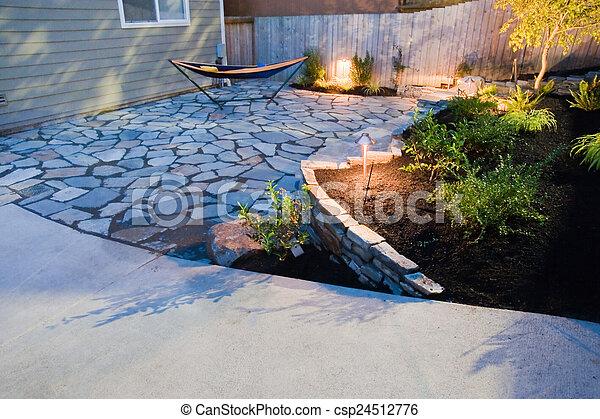 Yard - csp24512776