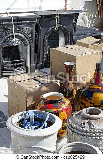 Yard sale - csp0254291