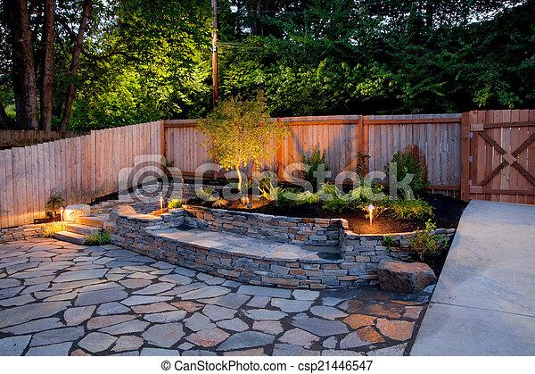 Yard - csp21446547