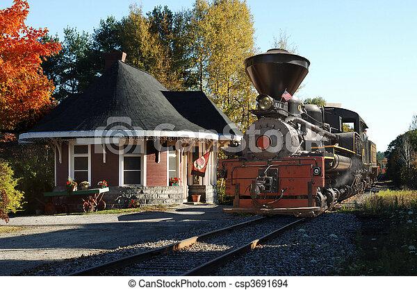 Yarmouth Station - csp3691694