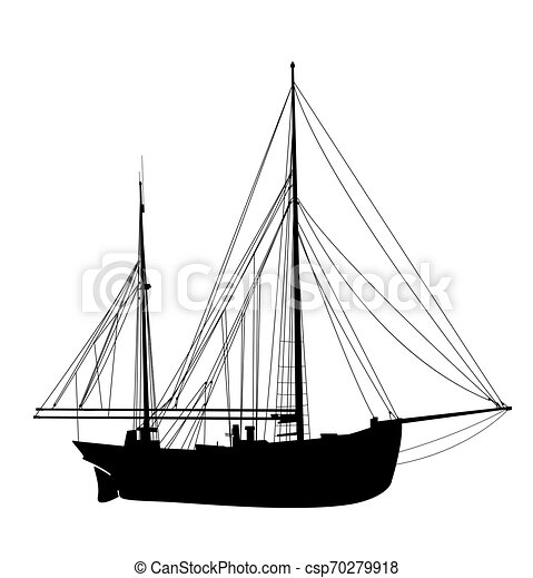 Navegando silueta 3 - csp70279918