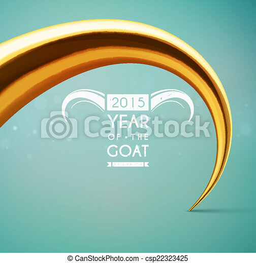 Year of the Goat - csp22323425