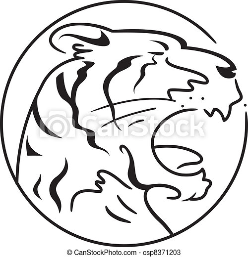 Year of the Tiger - csp8371203