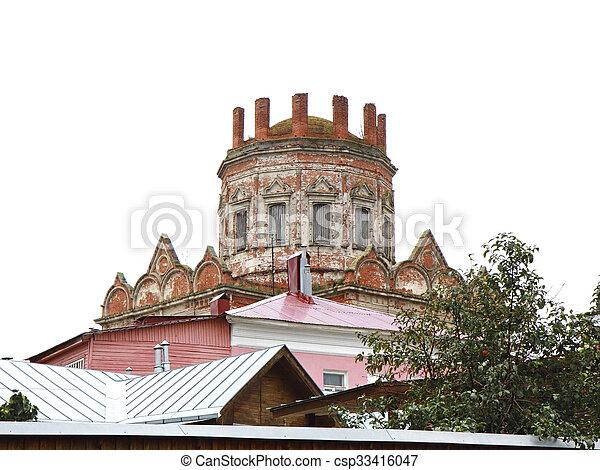 Iglesia de la Virgen Santa. Yelets. Rusia - csp33416047