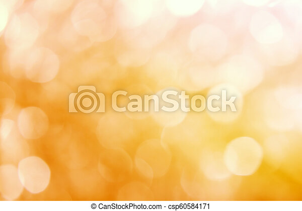 yellow abstract background with blurred defocus bokeh light - csp60584171