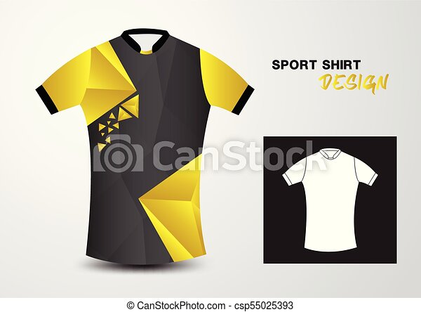 sport t shirt yellow