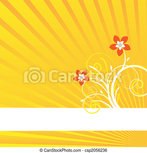 yellow background card - csp2056236